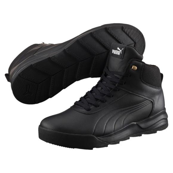 fe9f3f5c0d3 New PUMA Desierto Sneaker L Black. M 5a45373a00450f2f190d7a79